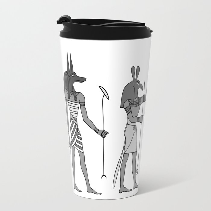 Gods of ancient Egypt Travel Mug