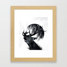 oh my world Framed Art Print