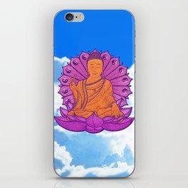 Peace Buddha in the Sky iPhone Skin