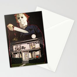 Halloween Michael Myers Stationery Cards