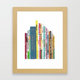 Children's Books Framed Art Print