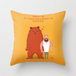Cabárceno Shore (Chueca) Throw Pillow