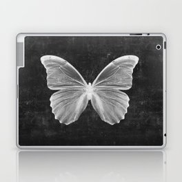 Butterfly in Black Laptop & iPad Skin