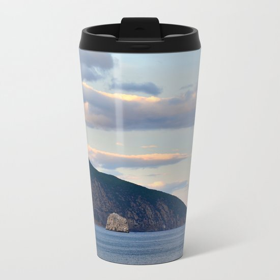 Mountain landscape Metal Travel Mug