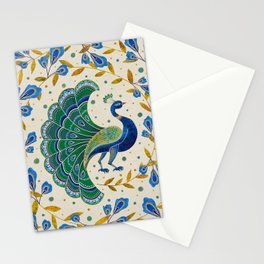 'Morr' Peacock Artwork Stationery Cards