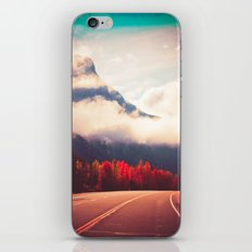 Misty Road iPhone & iPod Skin
