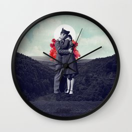 Hold My Breath Wall Clock