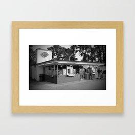 Classic Dairy Queen Framed Art Print