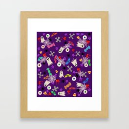 Maybe you're haunted #2 Framed Art Print
