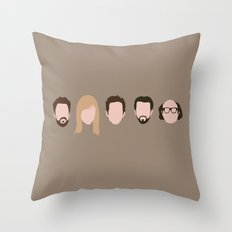 The Gang (It's Always Sunny) Throw Pillow