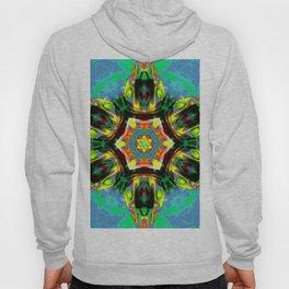 chakra art heart healing blue Hoody
