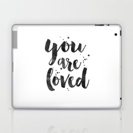 PRINTABLE ART, You Are So Loved,Love Quote,Love Art,Love Sign,Boyfriend Gift,Gift For Her,Engagement Laptop & iPad Skin