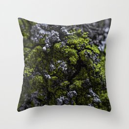 Barnacle Woodlands Throw Pillow