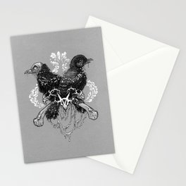 Hells pigeons Stationery Cards