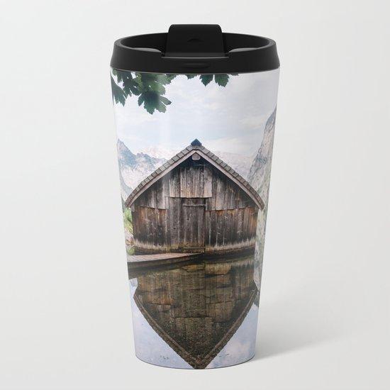 Famous cabin  Metal Travel Mug