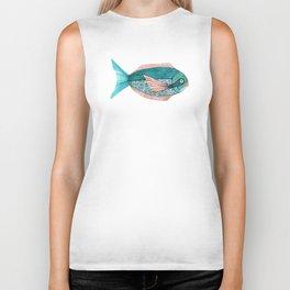 fishy Biker Tank