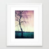 new year Framed Art Prints featuring new year by Claudia Drossert