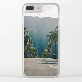 Valley of the Temples, Kaneohe, Hawaii Clear iPhone Case