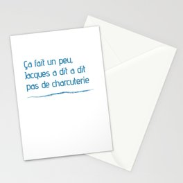 Jacques A Dit Oss 117 T-shirt Gift Stationery Cards