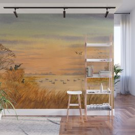 Duck Hunters Calling Wall Mural
