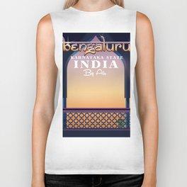 Bengaluru India travel poster Biker Tank