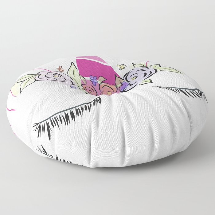 Sleepy Unicorn Floor Pillow