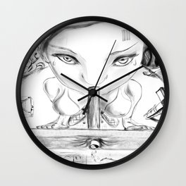 Global perversion Wall Clock
