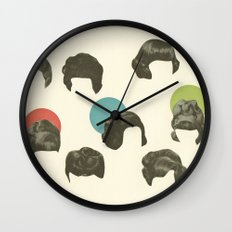 Hair Today, Gone Tomorrow Wall Clock