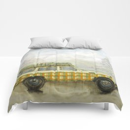 Plaid Land Cruiser Comforters