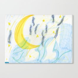 midnight pt.2 Canvas Print
