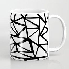 Mozaic Triangle White Coffee Mug