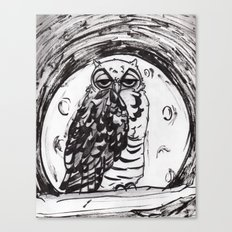 Night Owl v.1 Canvas Print