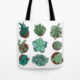 LOVE succulents Tote Bag