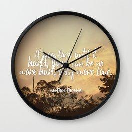 |HURT| Wall Clock