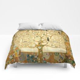 Gustav Klimt - Tree of Life Comforters