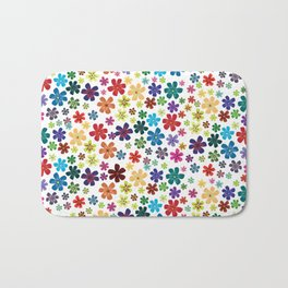 Flowers - Flowers Bath Mat