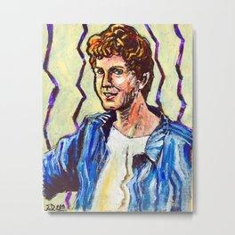 Daniel, A Portrait Metal Print