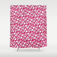 lace Shower Curtains featuring Lace by Mr and Mrs Quirynen