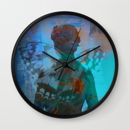 You give me Wings - JUSTART © Wall Clock