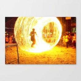 Fire Chamber 1 Canvas Print