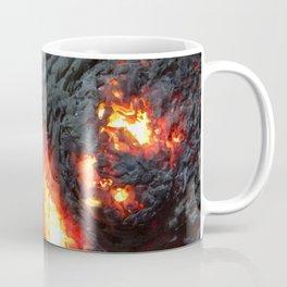 Flaming Seashell 4 Coffee Mug