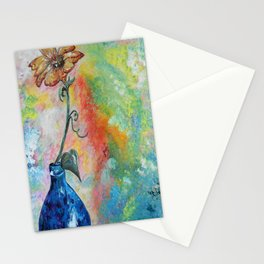 One Solitary Flower Stationery Cards