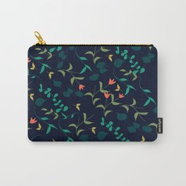 Simple Pile of Leafs and Flowers Carry-All Pouch