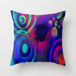 Suspended Stunner Throw Pillow