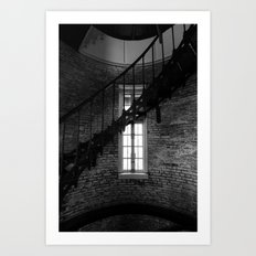Spiral & Window Light Art Print