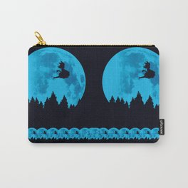 The Moon on Dragon Ball - Blue Carry-All Pouch