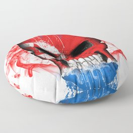 To The Core Collection: North Korea Floor Pillow