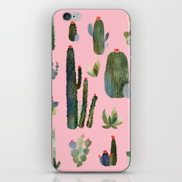 cactus pink new version! iPhone Skin