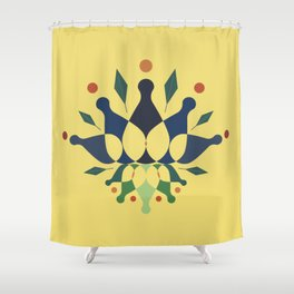 Holly Olly Shower Curtain