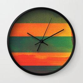 waves (01) Wall Clock